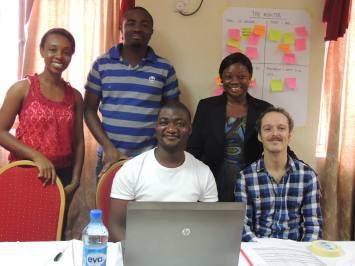Venatius with colleagues